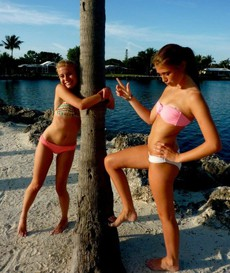 Gorgeous teen girlfriends posted their..
