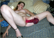 Playful young coeds stuffing pussies..