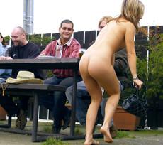 Busty girlfriends running around naked..