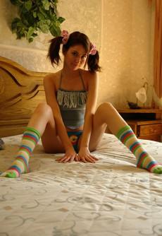 Busty teen girlfriends mixed erotic..