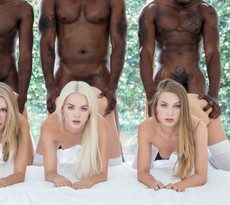 Interracial groupsex pics with sexy..