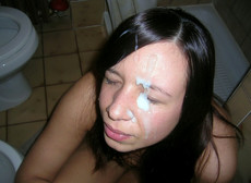 Dude cums on face of this GF everyday..